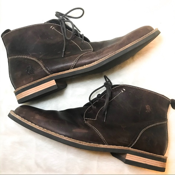 Original Penguin Other - Original Penguin Merle Chukka Boot 10